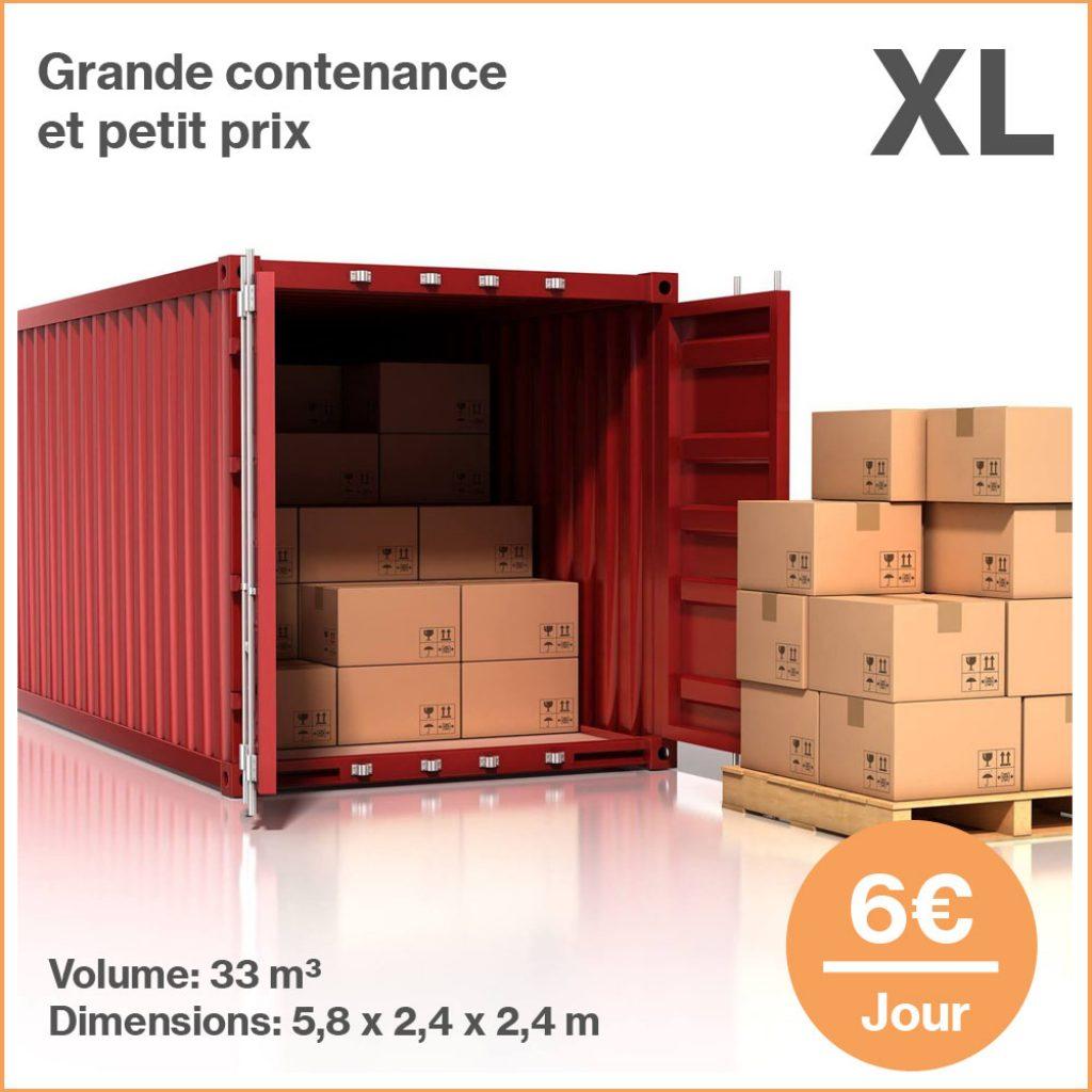 Box XL Self Stockage