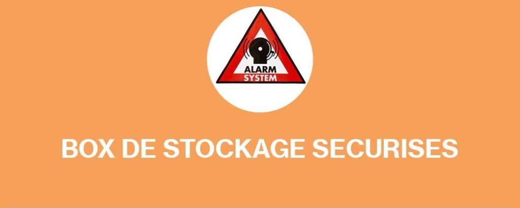 Box de stockages sécurisés